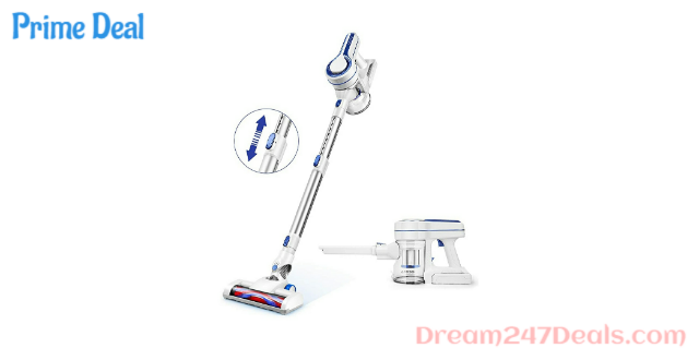 20% off APOSEN Cordless Vacuum 10Kpa Powerful Suction 35min-Running 4 in 1 Handheld Stick Vacuum Cleaner Motorized Lightweight & Extension
