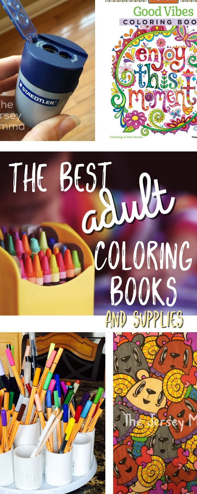 The Best Adult Coloring Books and Supplies - Part 2 | The Jersey Momma