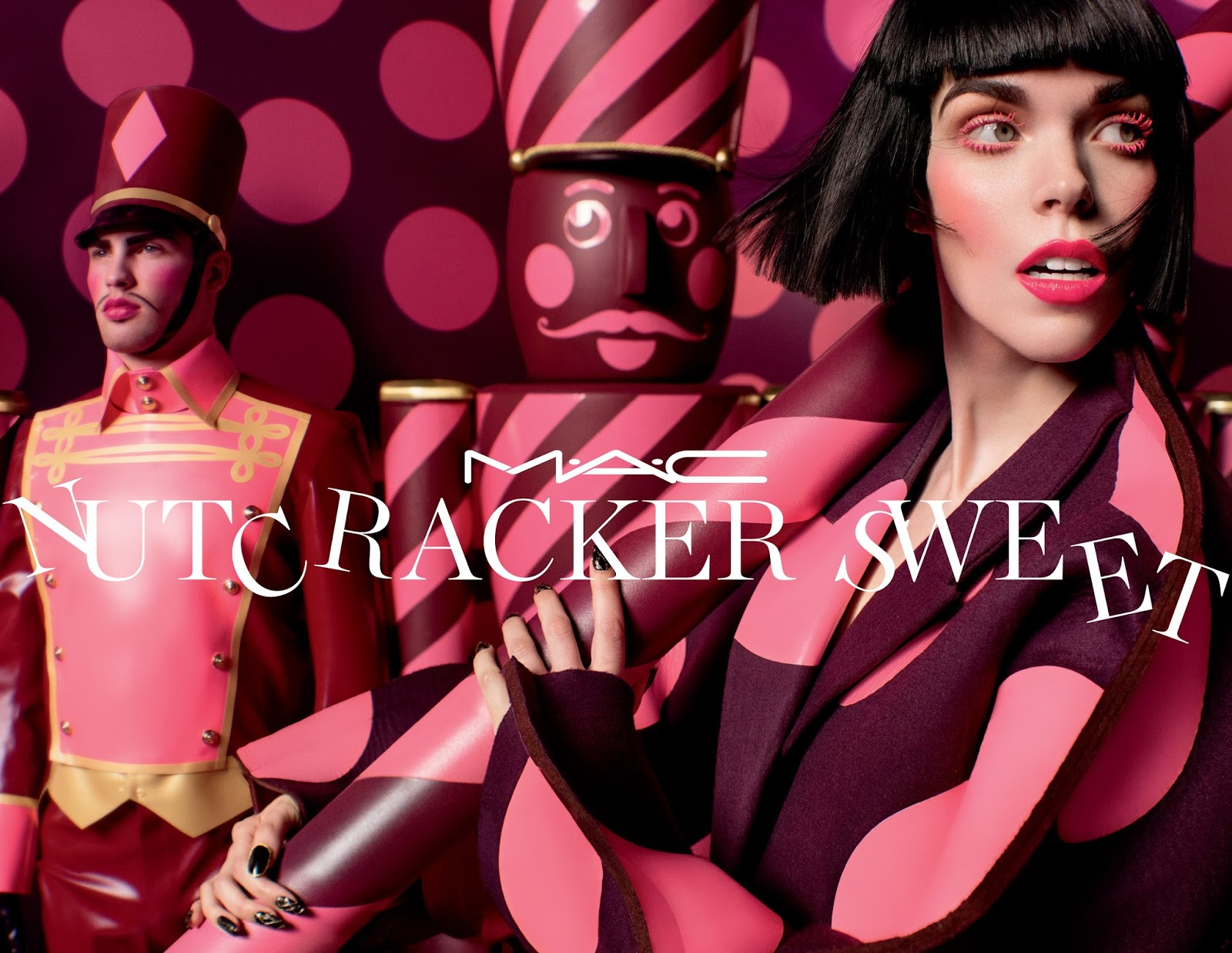 Fivetwo beauty 2016 holiday beauty gift no2 mac nutcracker lose yourself in an eccentric kingdom of oversized treats and rosy cheeked nutcrackers solutioingenieria Image collections