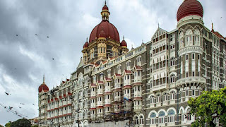 Mumbai Taj Hotel came to blow the terrorist attack