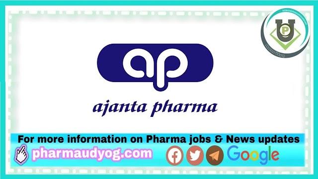 Ajanta Pharma   Urgent recruitment for QC & QA department at Indore