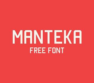 Monteka Free Font Terbaik Untuk Desain Pakaian Distro
