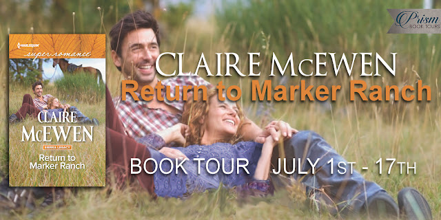 Return to Marker Ranch by Claire McEwen – Guest Post + Giveaway
