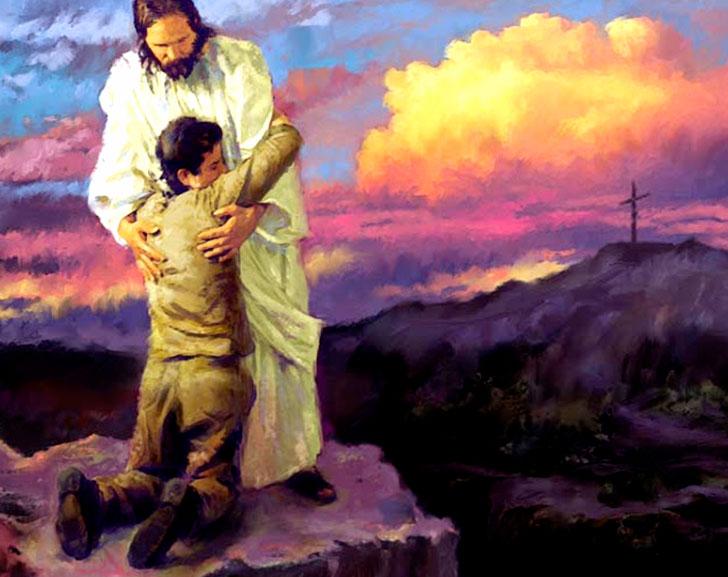 Jesus é o teu consolo, socorro bem presente na hora da angustia