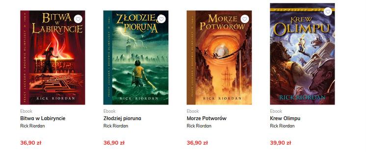 Galeria Książki, e-booki