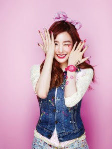 snsd tiffany for casio baby g look