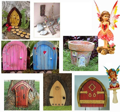 Fairy House Doors. Free Printables and Templates.