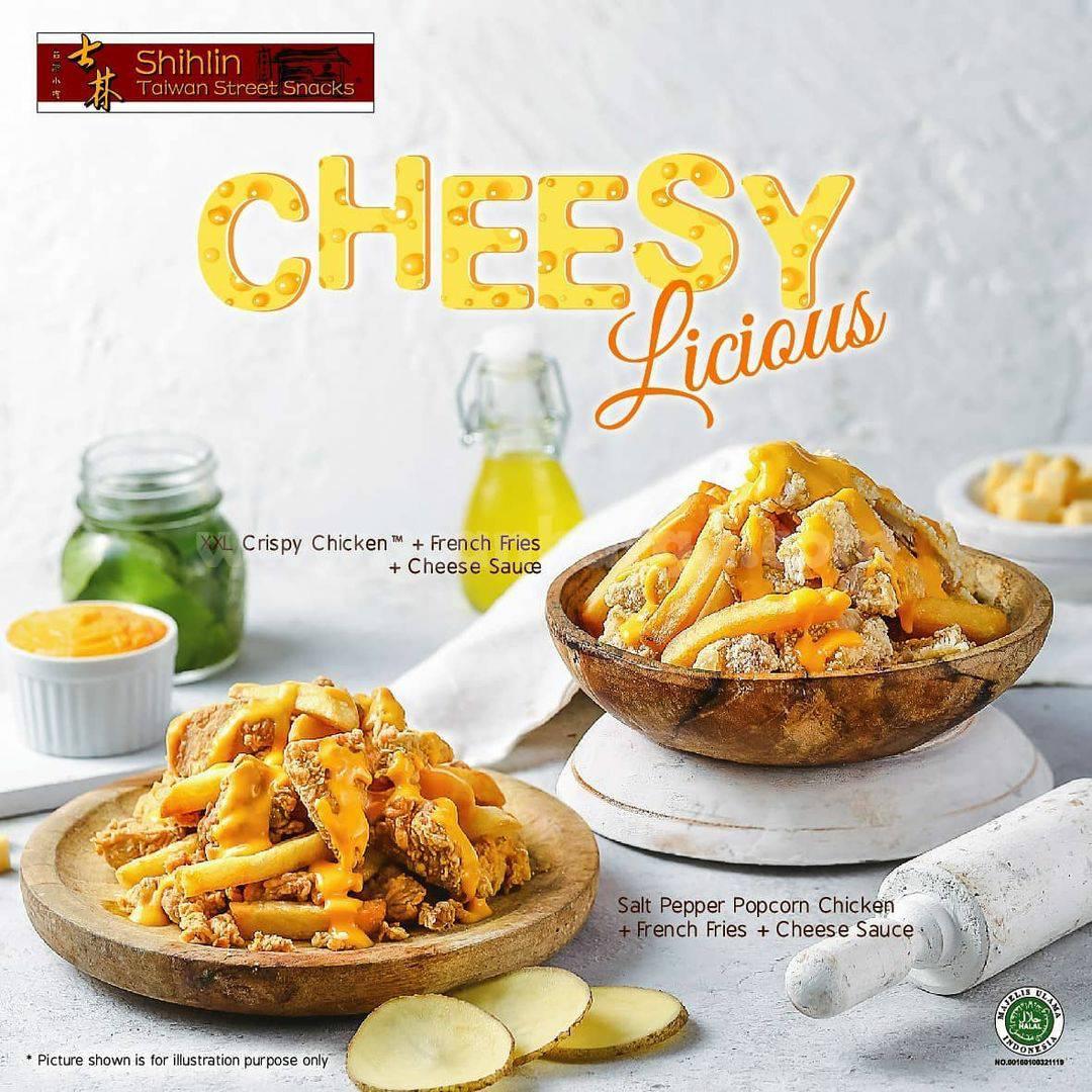 BARU! Menu Crispy Chicken SHIHLIN Cheesy Licious