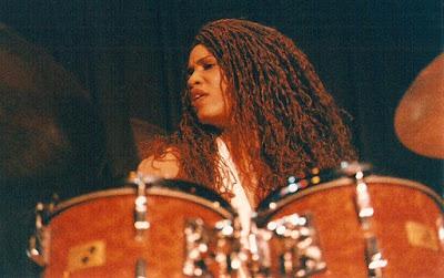 Cindy Blackman Santana, photo copyright Lenny Bernstein, jazzjonesphotos.com