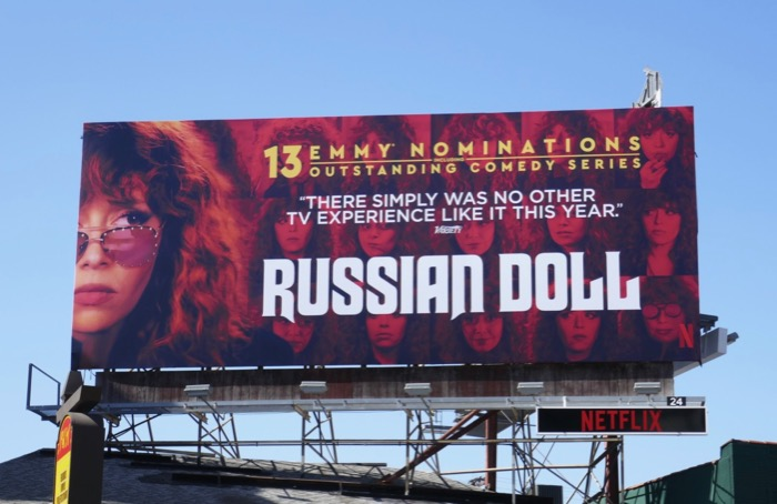Russian Doll season 1 Emmy nominations billboard