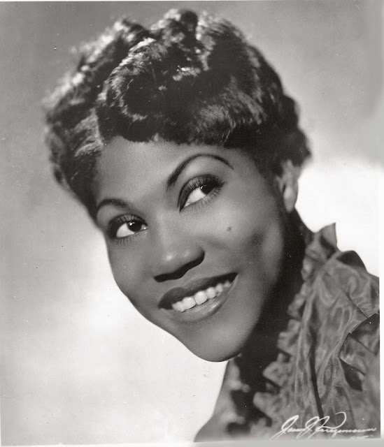 Metamora Herald Rosetta Tharpe black and white photo