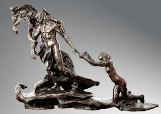 'La edad madura' de Camille Claudel.