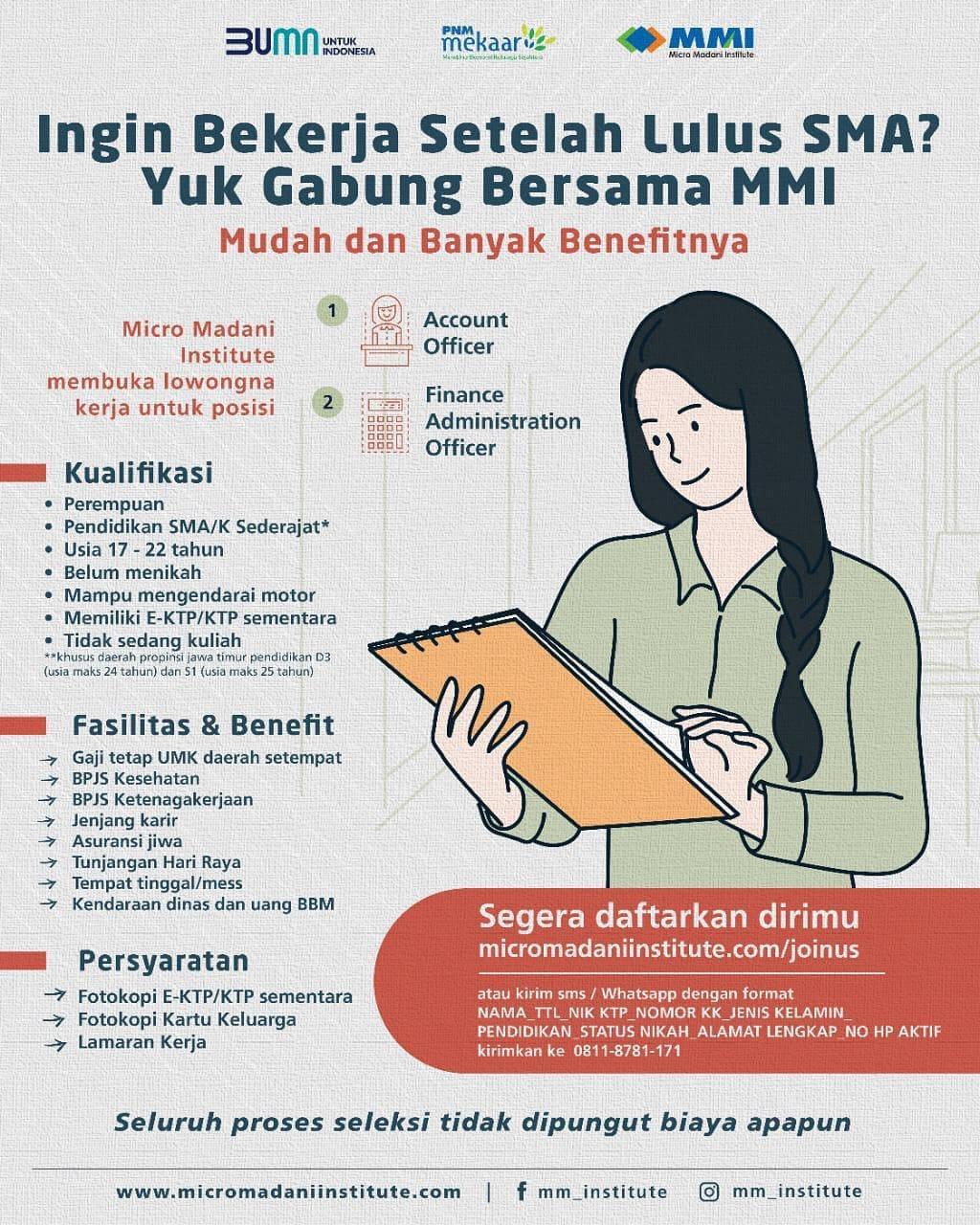 Info Loker Bumn Terbaru Rekrutmen Pt Pnm Persero Tingkat Sma Februari 2021 Medanloker Com Lowongan Kerja Medan
