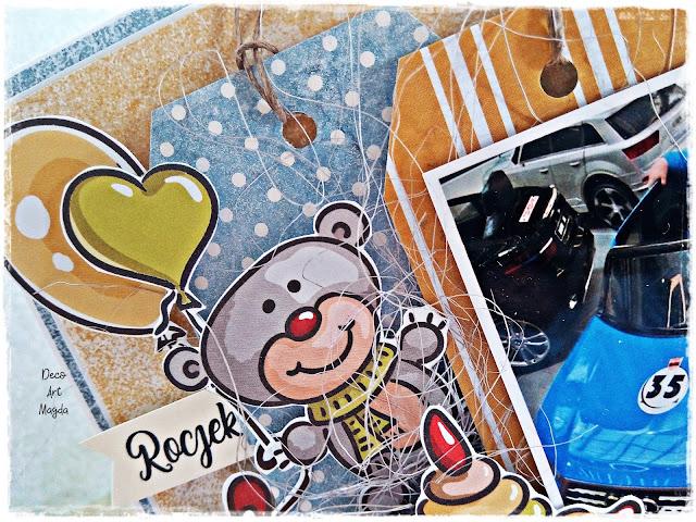 Kartka na roczek :)