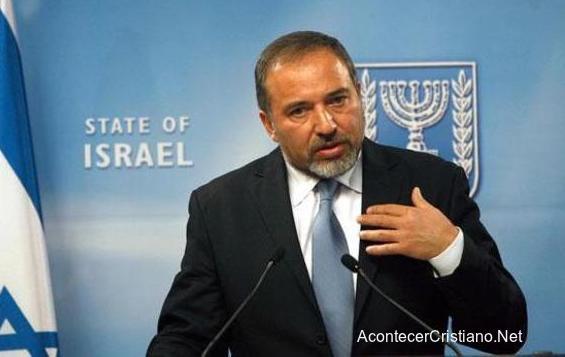 Ministro de Defensa de Israel, Avigdor Liberman