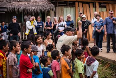 Puerto Miguel visita Comunidad Crucero Pacaya Samiria