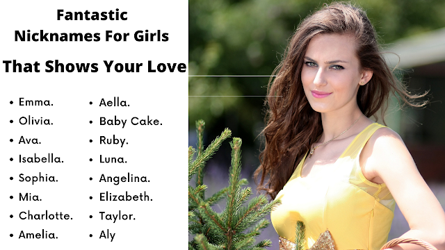 101 Fantastic Nicknames For Girls That Shows Your Love