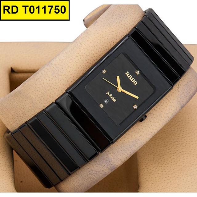 Đồng hồ nam mặt vuông Rado T011750
