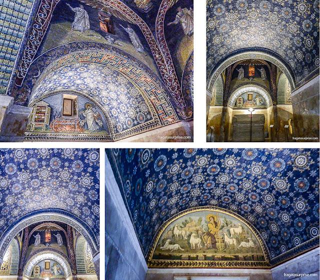 Mausoléu de Gala Placídia, Ravena, Itália