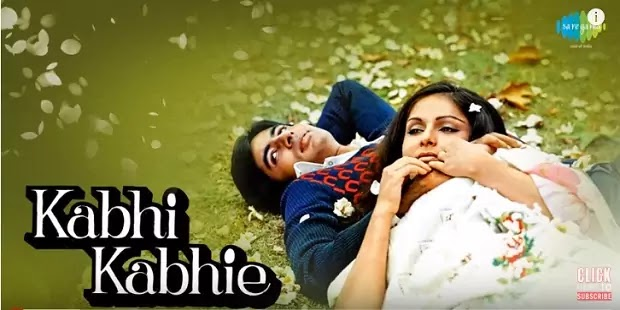 कभी कभी Kabhi Kabhi Lyrics in hindi-Mukesh-Amitabh Bachchan