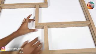 Cara Membuat Rak Dinding Dari Kardus Bekas - Cara Membuat Rak Dinding Melayang Dari Kardus