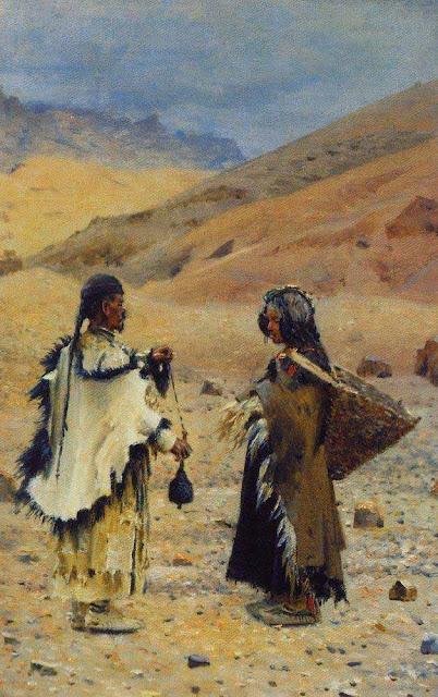 Василий Васильевич Верещагин - Жители Западного Тибета. 1874-1876
