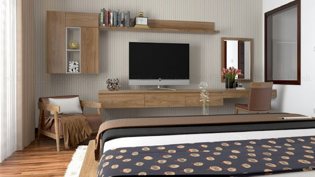 chất liệu gỗ cao cấp cho kệ tivi