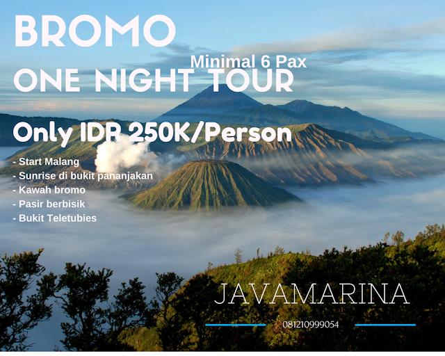 PROMO PAKET TOUR BROMO 2017