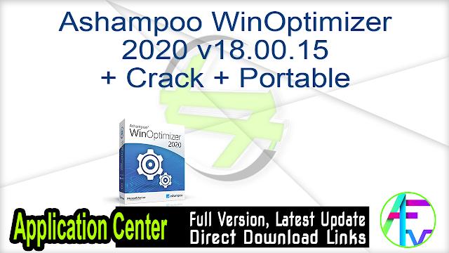 Ashampoo WinOptimizer 2020 v18.00.15 + Crack + Portable