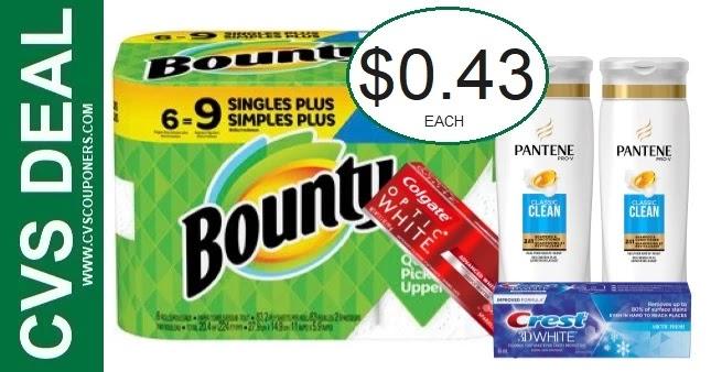 CVS Bounty P&G Deal 9-12-9-18