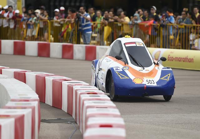 Garuda UNY melaju di trek balap Shell Eco-marathon Asia