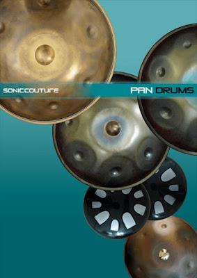Cover Box da Library Soniccouture - PAN DRUMS (KONTAKT)