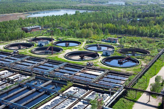 Tratamiento de aguas industriales planta operativa
