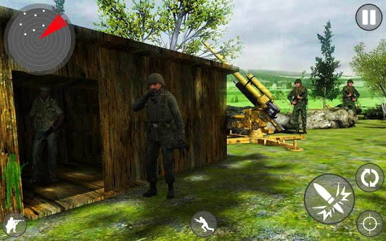 Game Commando Adventure : Jungle Shoot Hunter