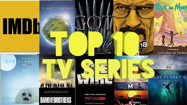Top 10 IMDB Rated Most Popular TV Shows of All Time
