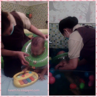 Sensasi Baby Spa di Mom n Jo