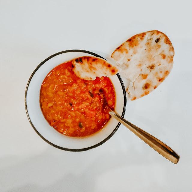 Dhal z grochu, przyjemne orientalne danie na zimowy obiad