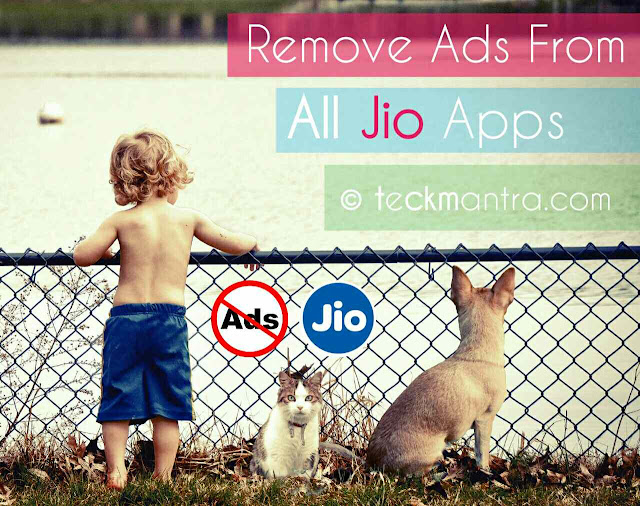 How to remove Ads From jio apps
