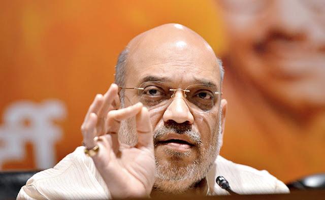 कोरोना को लेकर कांग्रेस राजनीति कर रही है - अमित शाह