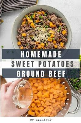 Homemade Sweet Potato Ground Beef