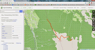 Make a KML-File from an OpenStreetMap Trail