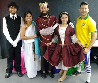 Pátio Alcântara apresenta a peça 'A Magia dos Jogos'