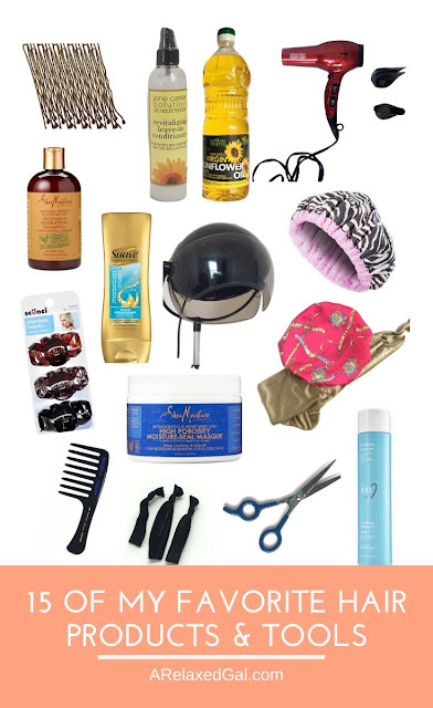 Favorite Hair Products And Tools For Relaxed Hair | A Relaxed Gal