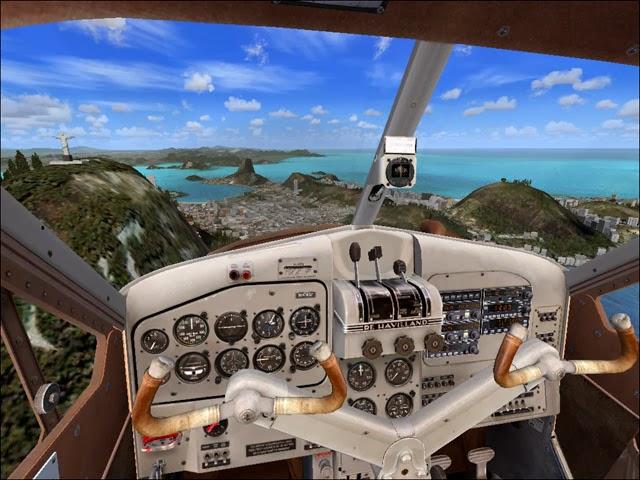 لعبة flight simulator من ماي ايجي