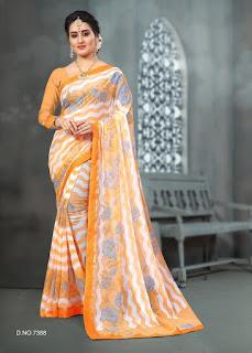 sanaa vol 2 Chiffon Saree Manufacture
