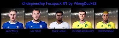 PES 2021 EFL Championship Facepack 1 by VikingDuck13