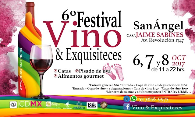 6º FESTIVAL VINO & EXQUISITECES