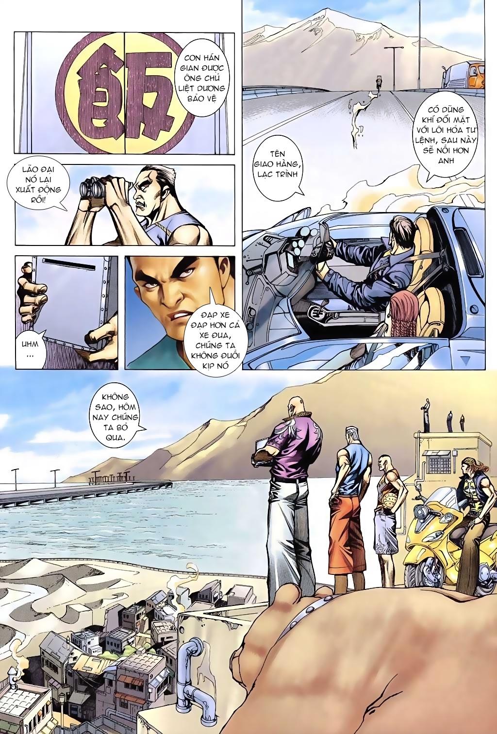 Xích Trụ Phạn Đường chap 6 - Trang 9