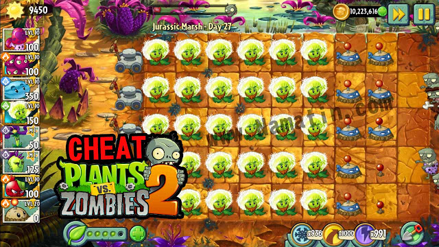 Mod Plants Vs Zombie 2 No Delay Unlmited Sun Android Terbaru Tanpa Root