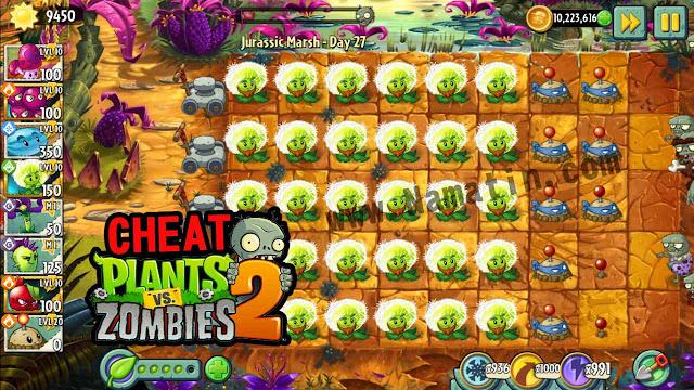 kini saya akan membagikan versi update terbaru dari  Mod Plants vs Zombie 2 No Delay Unlmited Sun Android Terbaru Tanpa Root